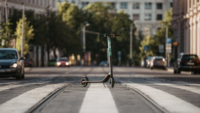 Bolt запускает в Риге услугу проката электросамокатов