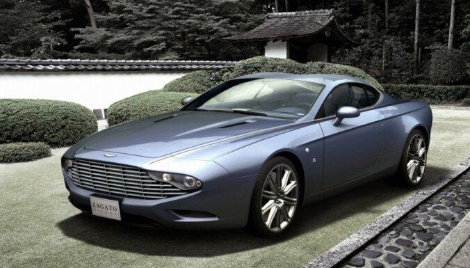 'Zagato' unikālie 'Aston Martin' pēc individuālā pasūtinājuma