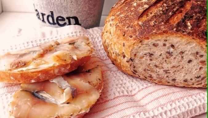 Soli pa solim: kā izcept graudu maizi, izmantojot dzīvo ieraugu
