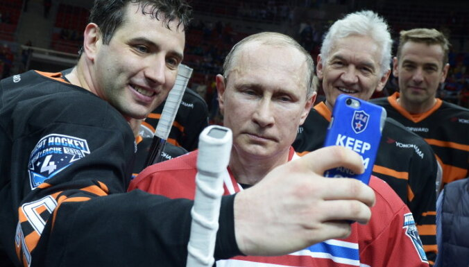 """Путин в составе """"Звезд НХЛ"""" забросил восемь шайб"""