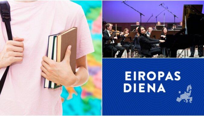 'Eiropas diena': 'Radošā Eiropa' un pārmaiņas 'Erasmus+' programmā