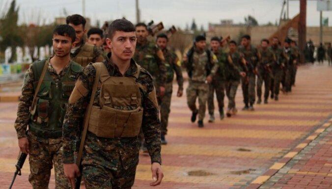 Kurdu spēki atsāk uzbrukumu pēdējam 'Daesh' atbalsta punktam Sīrijā