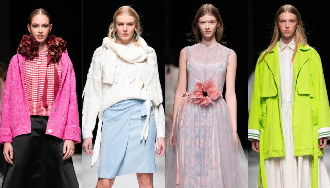 Четвертый день Рижской недели моды: соблазнительная нежность и грациозные детали