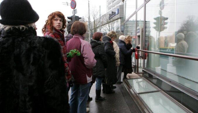 100 тысяч человек не стали забирать деньги, хранившиеся в Latvijas Krājbanka