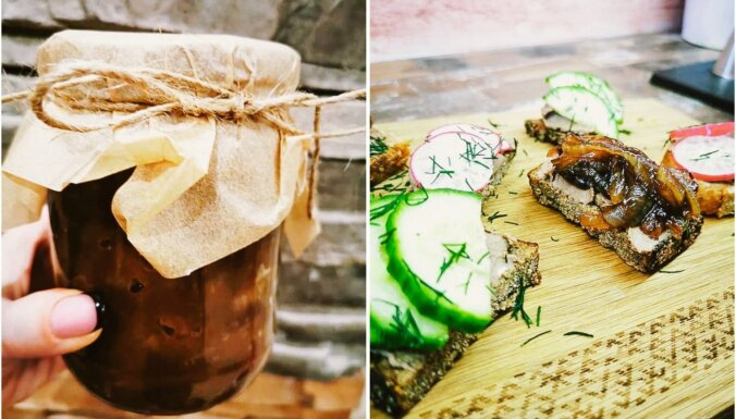Sīpolu marmelāde – garda un viegli pagatavojama piedeva