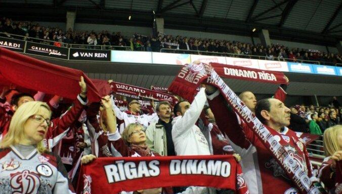 Krievijas himnas izgriešana Rīgas 'Dinamo' spēļu tiešraidēs sadusmo kaimiņzemes līdzjutējus
