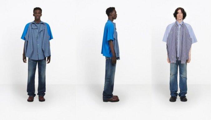 Krekls uz krekla: internetu pārsteidzis jauns stila trakums