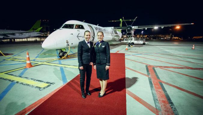 airBaltic начала полеты по маршруту Рига - Лиепая