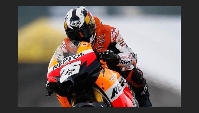 Kopvērtējuma līderis Pedrosa uzvar 'MotoGP' Itālijas posma kvalifikācijā