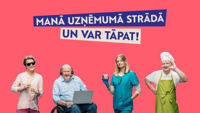 Diskusijā darba devēji dalīsies pieredzē par cilvēku ar invaliditāti nodarbinātību. Ieraksts.