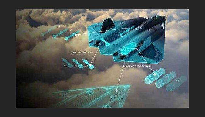 ASV Gaisa spēki pirmoreiz prezentē iespējamā 'F-22' aizvietotāja skici