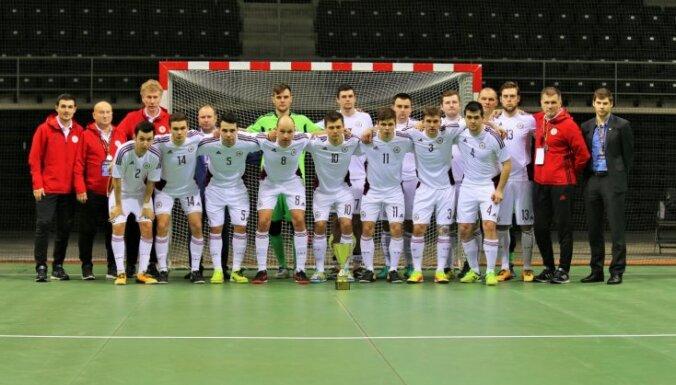 Latvijas telpu futbola izlase uzzinājusi pretiniekus Eiropas čempionāta atlasē