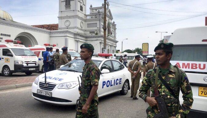 МИД не располагает данными о пострадавших в Шри-Ланка жителях Латвии