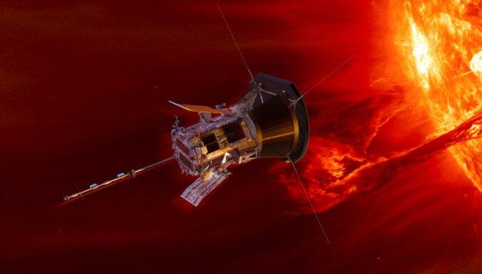 NASA zonde 'Parker Solar Probe' tuvojas Saulei rekordātrumā