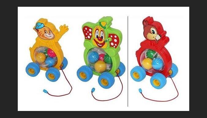 Pastāvot nožņaugšanās draudiem, no tirdzniecības atsauc Baltkrievijā ražotu rotaļlietu 'Kaķēns'