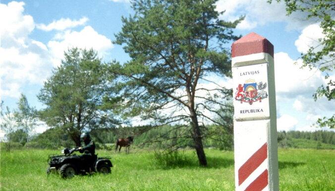 Latvijas-Krievijas robežas iekārtošanai piešķir 310 tūkstošus eiro