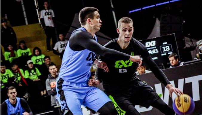Latvijas 3x3 izlases basketbolisti iekļūst Pasaules tūres finālposma ceturtdaļfinālā