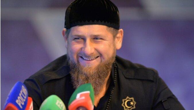 Latvijas 'Magņitska sarakstā' iekļauts arī Čečenijas vadītājs Kadirovs