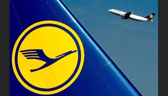 'Lufthansa' atceļ 830 piektdien paredzētos lidojumus