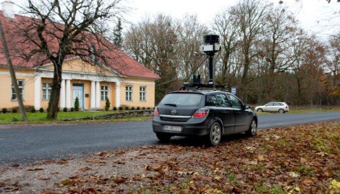 Автомобили Google начнут снимать Литву в пятницу