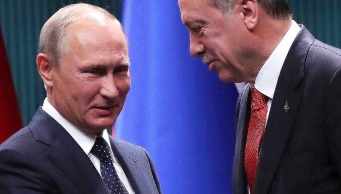 """Путин и Эрдоган согласовали """"судьбоносный"""" план по Сирии"""