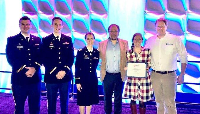 Latviešu jaunuzņēmums uzvar starptautiskā zinātniskā konferencē