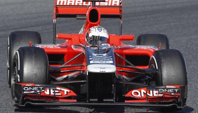 Российский болид Marussia не прошел краш-тесты