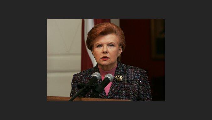 Prezidente: šogad galvenais nepadarītais darbs – robežlīgums ar Krieviju