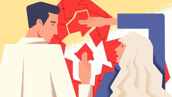 Piecas lietas laulāto uzvedībā, kas noved pie šķiršanās