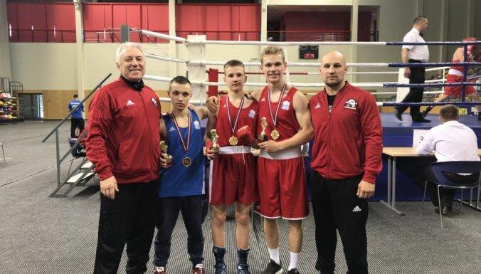 В Даугавпилсе прошел турнир по боксу памяти братьев Пурвинских