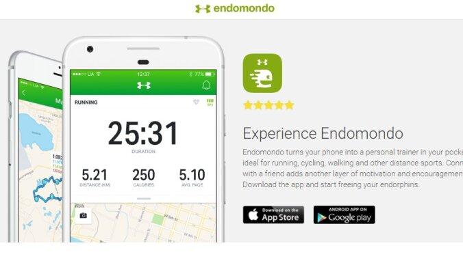 Закрывается приложение для отслеживания тренировок Endomondo