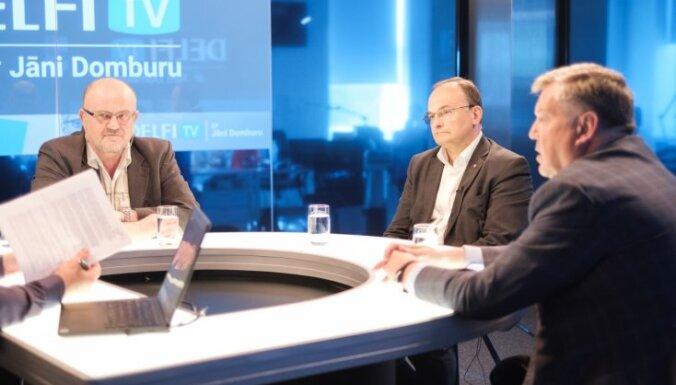 """За кого голосовать? На вопросы Яниса Домбурса ответили лидеры """"Согласия"""""""