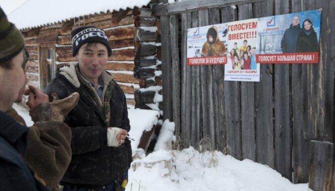 Novērotāji no Latvijas Valsts domes vēlēšanas Krievijā neuzskata par demokrātiskām