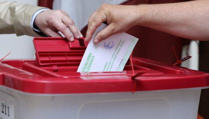 Neapzīmogoto vēlēšanu aplokšņu pieskaitīšana Jelgavā ievēlēto domnieku sastāvu nav mainījusi