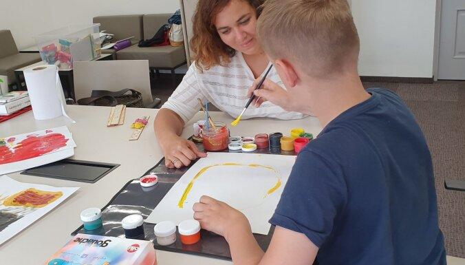 2. augustā Grīziņkalnā notiks Mākslu terapijas diena bērniem un jauniešiem