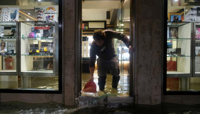 В Венеции объявят режим стихийного бедствия из-за наводнений, есть погибшие