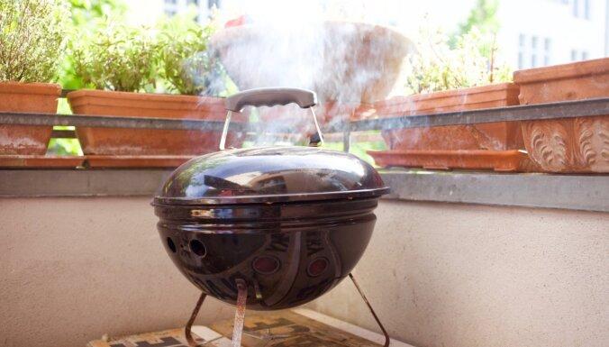 Мангал в квартире: можно ли жарить мясо на балконе?