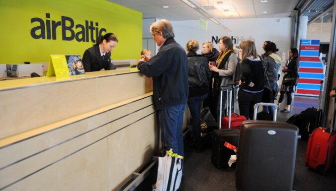 Автобус airBaltic не будет возить пассажиров в Шяуляй