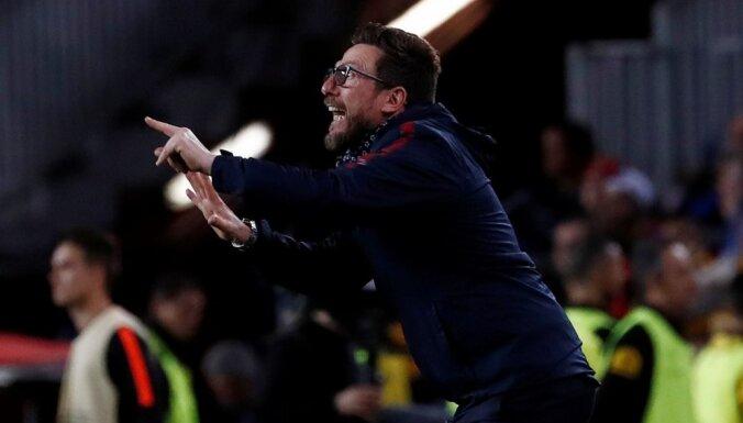 'AS Roma' galvenais treneris pārmet tiesnesim 'Barcelona' atbalstīšanu