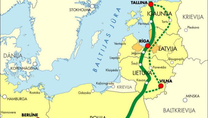 SM noraida kritiku par 'Rail Baltica' projekta neefektivitāti