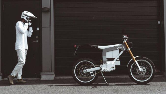 Zviedru elektromotocikls 'Cake' pieejams Latvijā