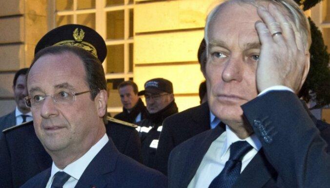 Francijas prezidents atlaiž valdību un izvēlas jaunu premjera amata kandidātu