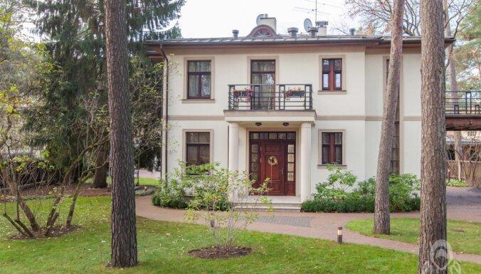 ФОТО. Дом в Межапарке за 1,5 млн евро, в котором жил знаменитый баскетболист Айгарс Зейдакс