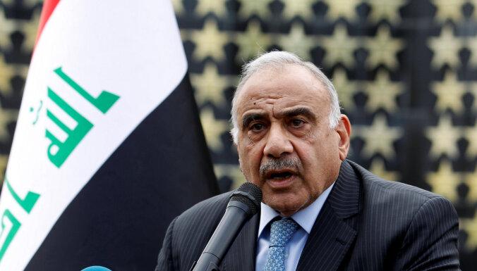 Divas spēcīgākās Irākas partijas atbalsta valdības gāšanu