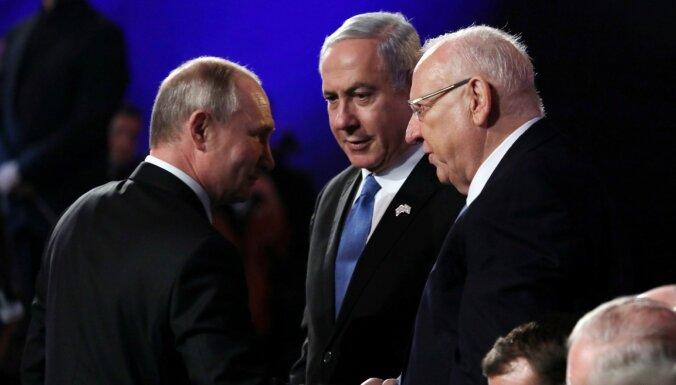 Форум памяти Холокоста: Израиль благодарит СССР, Польша напоминает о договоре с Гитлером