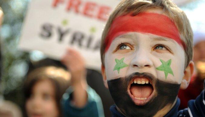 Nemieros Sīrijā gājuši bojā gandrīz 50 cilvēki