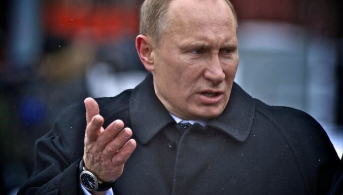 Uz Putina inaugurāciju Krievijas prezidenta amatā netiks aicināti ārvalstu vadītāji