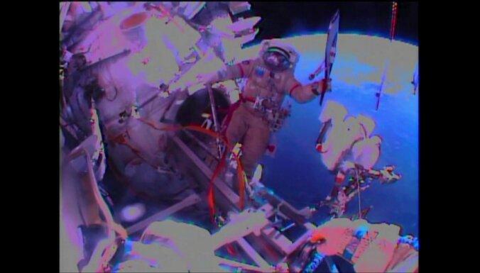 ФОТО: олимпийский факел вынесли в открытый космос