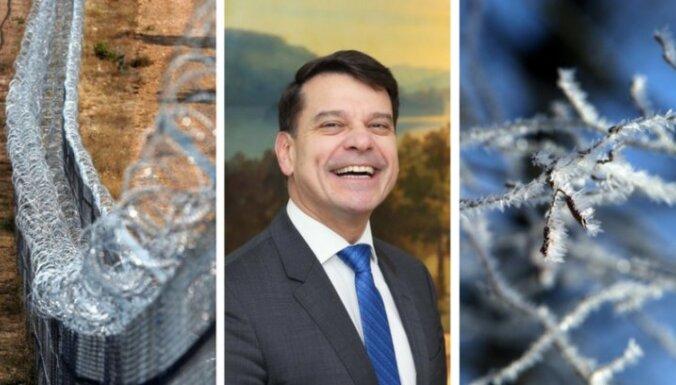 23 января. Чей забор круче, приближающийся холод, интервью с послом Швеции