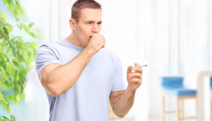 Pazīmes, kas var liecināt par plaušu vēzi